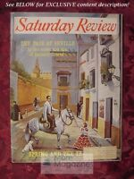 SATURDAY REVIEW March 11 1961 WILLIAM O DOUGLAS GUSTAVE SIMONS BARNABY CONRAD