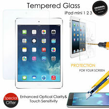 Real Tempered Glass protector Film Screen Protector For Apple iPad Mini 1/2/3