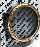 KBIKE Ducati PANIGALE V4 V4S Billet Anodized See Thru Clutch Cover GOLD