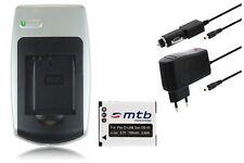 Chargeur+Batterie SLB-0737/0837 pour Samsung Digimax L73 L80, L700, NV3, NV7 OPS