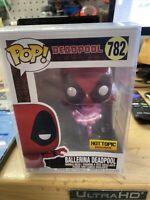 Funko Pop Marvel #782 Ballerina Deadpool Hot Topic Exclusive