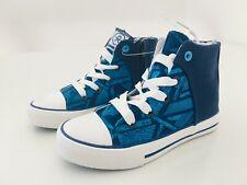 COLOR KIDS - coole Sneaker Canvas VAAGE in blau - NEU - Gr 29 S67S