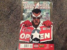 Captain America And The Avengers Comic #2! Look In The Shop!