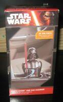 Star Wars Darth Vader USB Car Charger 2X USB Ports Phone Charger