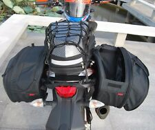 Bag Luggage Big Capacity Motorcycle Pannier Saddle Bag With Rain Cover36-58L x2