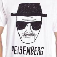 Heisenberg Men's T-shirt - BREAKING BAD -  Walter White -100% COTTON Size: 2-XL