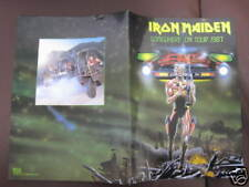 Iron Maiden Somewhere on Tour 1987 Japan Tour Book Concert Program
