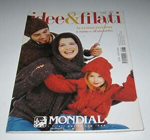 MONDIAL Fall Winter #37 knitting yarn pattern book with 53 Designs