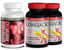 Testosterone Booster T742, Longjack Male Enhancement Formula. Combo (1+2 Bottle)