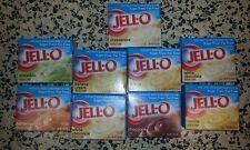 Jell-O SUGAR FREE Instant Pudding JELLO Dessert CHOOSE FLAVOR 0.8 OZ