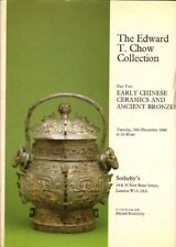 SOTHEBY'S Edward Chow Collection Chinese Ceramics 3 Vol