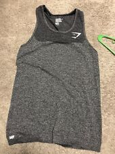 Mens Pre-Owned (Extremely Good Condition) Gymshark Tank Size Medium