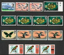 BRITISH SOLOMON ISLANDS - 1968-75 High values x15 to $5 *MINT HINGED* (CV £100+)