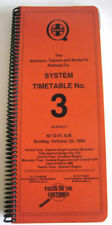 Atchison Topeka & Santa Fe System Employee Timetable October 25 1982 #3 Atsf