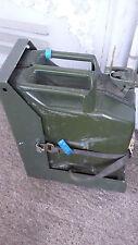 20l Benzinkanister Blech-Kanister Diesel Reservekanister  Alu Halter Bundeswehr