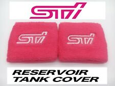JDM STI PINK RESERVOIR OIL TANK COVER SOCK FOR SUBARU BRZ IMPREZA WRX FORESTER