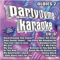 Party Tyme Karaoke: Oldies,  Vol. 2 by Sybersound - Audio CD