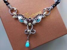 Barbara Bixby .925/18k Tibetan Eye Necklace