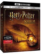 Harry Potter 8-Film Collection (4K Ultra HD, Blu-ray, 2017, REGION FREE)