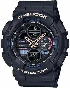 Casio GMAS-140-1A G-Shock S-Series Black Resin Band Women's Watch