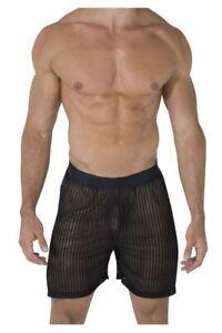 CandyMan 99497 Mesh Lounge Shorts Color Black