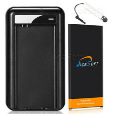 AceSoft 6270mAh Battery Desktop Charger for Samsung Galaxy S5 Sm-G870A CellPhone