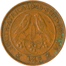 1946 BRITISH SOUTH AFRICA /  FARTHING OF KING GEORGE VI.     #WT5296