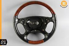 03-09 Mercedes R230 SL500 CLK320 CLK500 Steering Wheel Wood Black OEM