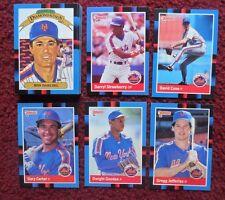 1988 Donruss New York Mets Baseball Team Set (30 Cards) ~ Gary Carter GOODEN ++