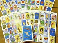 Loteria Mexicana. Mexican Bingo, 10 playing Loteria boards,  54 playing cards.