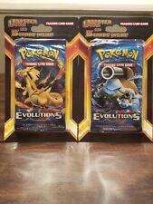 Pokemon Legacy Pack Plus 5 Card Blister Pack Lot! 2 Packs - XY Evolutions SEALED