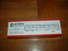 SLATERS COACH KIT for GWR 57' TOPLIGHT BRAKE 3rd COACH Diag D47. OO Gauge