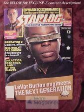 STARLOG January 1991 #162 LAVAR BURTON KENT MCCORD PATRICK SWAYZE LARRY DRAKE