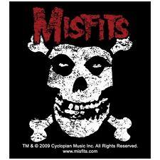 Sticker Misfits Crimson Ghost Fiend Crossbones Horror Punk Music Band Decal
