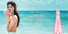 DAVIDOFF COOL WATER SEA ROSE 2 X 30 EDT ~~ BRAND NEW & SEALED