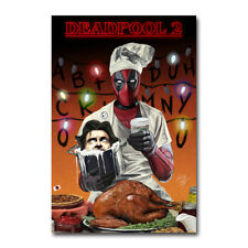 Deadpool Movie Silk Poster Wall Art Prints 24X36 inch