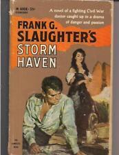 STORM HAVEN ~ PERMABOOK M4008 1960 5TH FRANK SLAUGHTER (CIVIL WAR DR. IN FL.)
