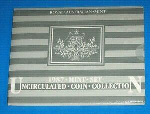 Australia 1987 Mint Set A Nice Set Uncirculated