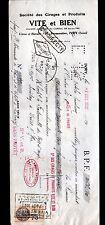 """IVRY-sur-SEINE (94) USINE CIRAGES & PRODUITS ENCAUSTIQUES """"VITE ET BIEN"""" en 1932"""