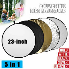 Photography Reflectors 5 in 1 Light Portable Collapsible Multi-Disc Photo Studio