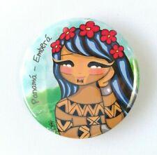 Embera Panama Natives Magnets Souvenirs Illustrated Print Art