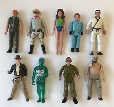 Vintage 1980s Action Figures Indiana Jones MASH X-Ray Man Lone Ranger Daisy