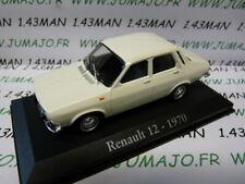 RBA12M Voiture 1/43 Universal Hobbies Renault R 12 1970