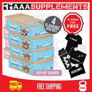 VITAWERX - VARIOUS CHOCOLATE BARS    Box of 12 x 35g Protein Bar Cookie Gym