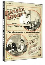 BANANA RIDGE / AREN'T MEN BEASTS. Robertson Hare, Alfred Drayton. New Sealed DVD