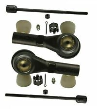 For Ford Freestar Mercury 04-07 Set of 2 Front Inner & Outer Tie Rod Ends Moog