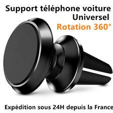 Universel Support Voiture Magnétique Rotation 360° Téléphone iPhone Samsung GPS