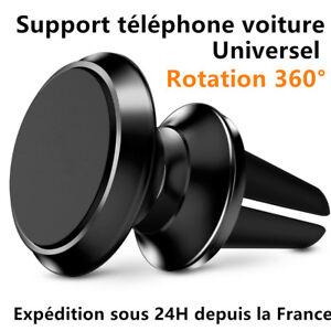 Universale Supporto Auto Magnetico Rotazione 360° Telefono IPHONE Samsung GPS