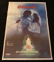 Vintage Turkish Movie Poster THE FLY 1986 David Cronenberg 1986 Genuine Artwork