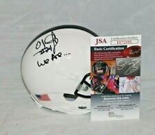 O.J. McDuffie Signed Autographed Penn State Nittany Lions Mini Helmet 1 Jsa